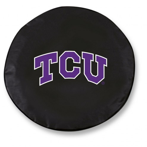Texas Christian Horned Frogs Tire Cover