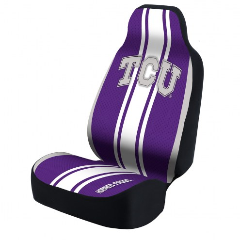 Texas Christian Horned Frogs Universal Bucket Car Seat Cover