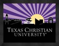 Texas Christian Horned Frogs Uscape Wall Decor
