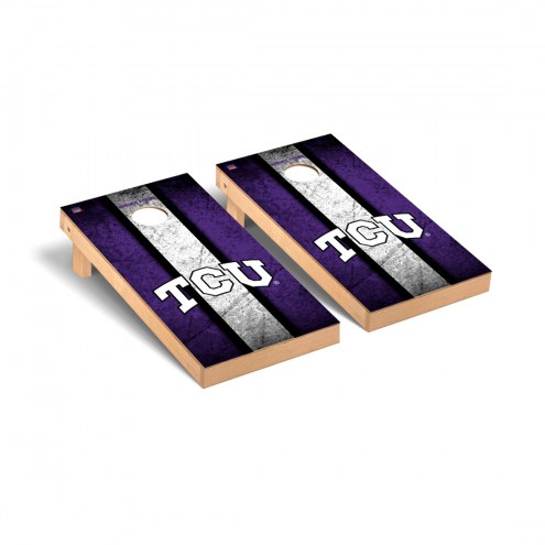 Texas Christian Horned Frogs Vintage Cornhole Game Set