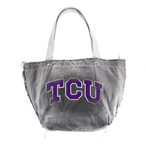 Texas Christian Horned Frogs Vintage Tote Bag