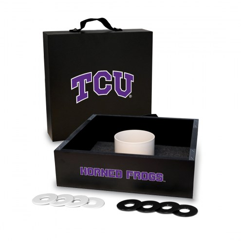 Texas Christian Horned Frogs Washer Toss Game Set