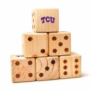 Texas Christian Horned Frogs Yard Dice