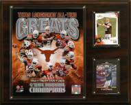 """Texas Longhorns 12"""" x 15"""" All-Time Greats Photo Plaque"""