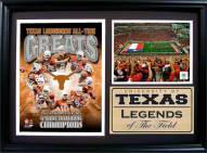 "Texas Longhorns 12"" x 18"" Greats Photo Stat Frame"