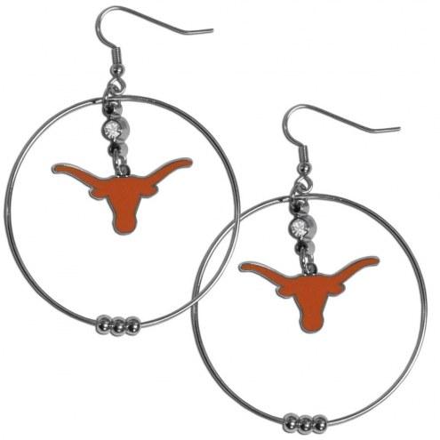 """Texas Longhorns 2"""" Hoop Earrings"""