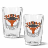 Texas Longhorns 2 oz. Prism Shot Glass Set