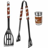 Texas Longhorns 2 Piece BBQ Set with Season Shaker