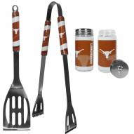 Texas Longhorns 2 Piece BBQ Set with Tailgate Salt & Pepper Shakers
