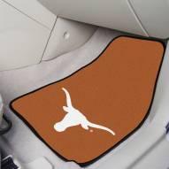 Texas Longhorns 2-Piece Carpet Car Mats