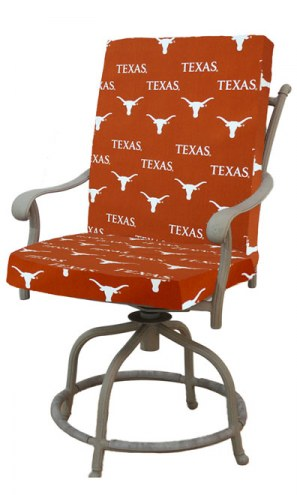 Texas Longhorns 2 Piece Chair Cushion