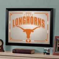 """Texas Longhorns 23"""" x 18"""" Mirror"""