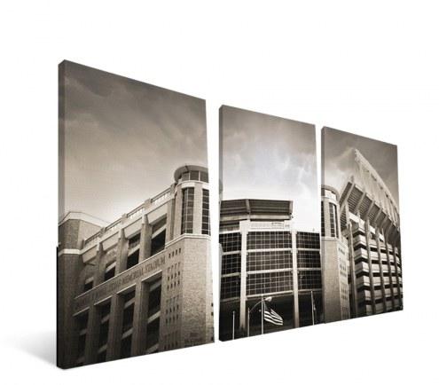 "Texas Longhorns 24"" x 48"" Stadium Canvas Print"