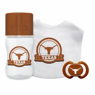 Texas Longhorns 3-Piece Baby Gift Set