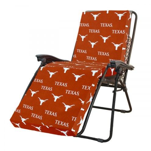 Texas Longhorns 3 Piece Chaise Lounge Chair Cushion