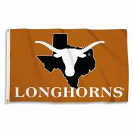 Texas Longhorns 3' x 5' State Outline Flag