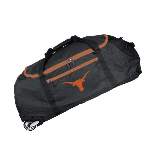 "Texas Longhorns 36"" Checked-in Wheeled Duffel"