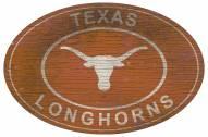 "Texas Longhorns 46"" Heritage Logo Oval Sign"