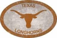 """Texas Longhorns 46"""" Team Color Oval Sign"""