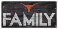 """Texas Longhorns 6"""" x 12"""" Family Sign"""