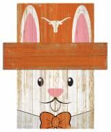 """Texas Longhorns 6"""" x 5"""" Easter Bunny Head"""