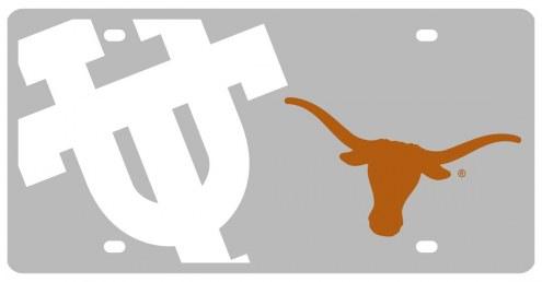 Texas Longhorns Acrylic Mega License Plate