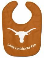 Texas Longhorns All Pro Little Fan Baby Bib