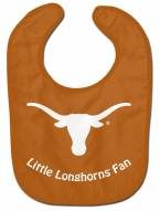 Texas Longhorns All Pro Little Fan Baby Bib