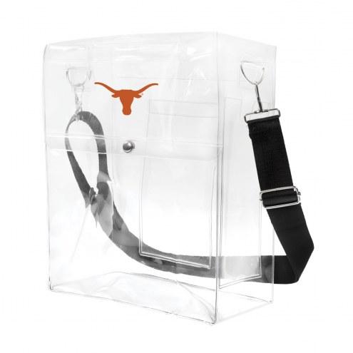 Texas Longhorns Clear Ticket Satchel
