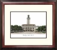 Texas Longhorns Alumnus Framed Lithograph