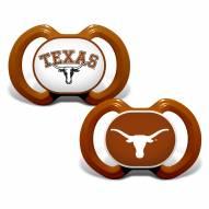 Texas Longhorns Baby Pacifier 2-Pack
