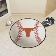 Texas Longhorns Baseball Rug