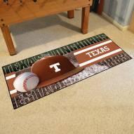 Texas Longhorns Baseball Runner Rug