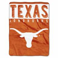 Texas Longhorns Basic Raschel Blanket