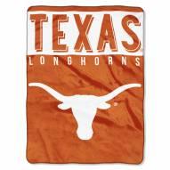 Texas Longhorns Basic Raschel Blanket