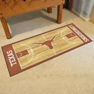 Texas Longhorns Basketball Court Runner Rug