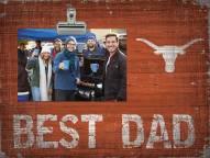 Texas Longhorns Best Dad Clip Frame