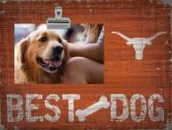 Texas Longhorns Best Dog Clip Frame