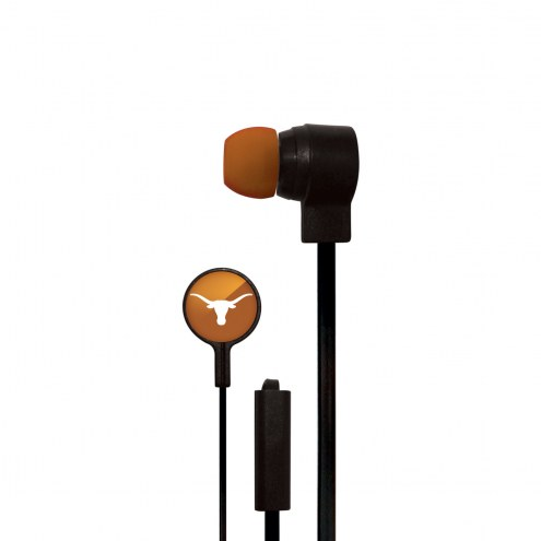 Texas Longhorns Big Logo Ear Buds