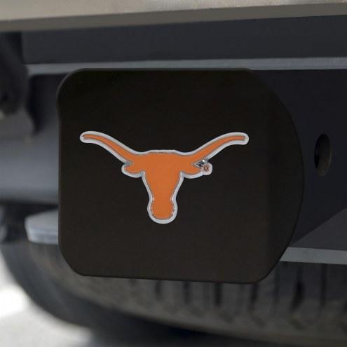 Texas Longhorns Black Color Hitch Cover