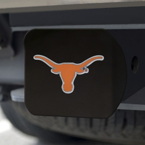 Texas Longhorns Black Color Hitch Cover
