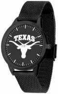 Texas Longhorns Black Dial Mesh Statement Watch