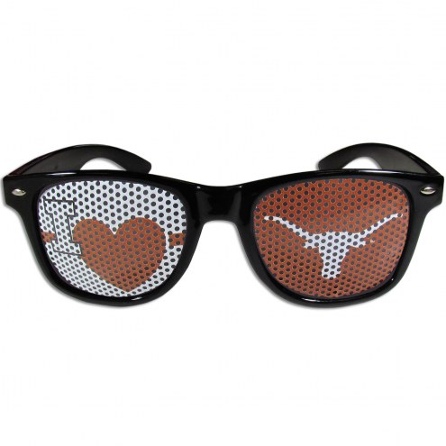 Texas Longhorns Black I Heart Game Day Shades