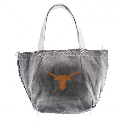 Texas Longhorns Black NCAA Vintage Tote Bag