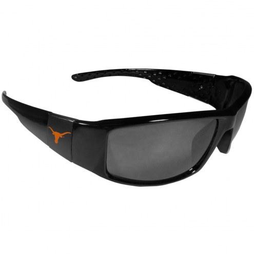 Texas Longhorns Black Wrap Sunglasses