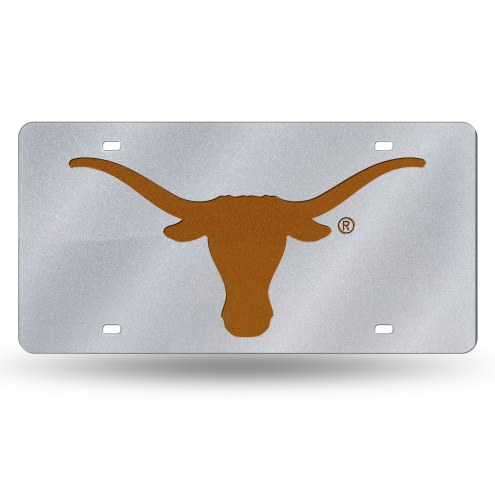 Texas Longhorns Bling License Plate