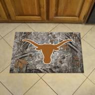 Texas Longhorns Camo Scraper Door Mat