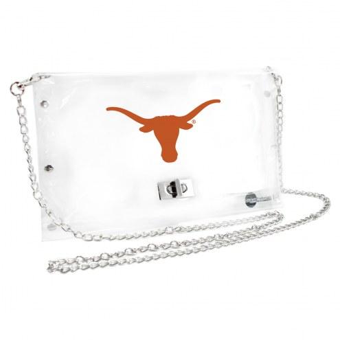 Texas Longhorns Clear Envelope Purse