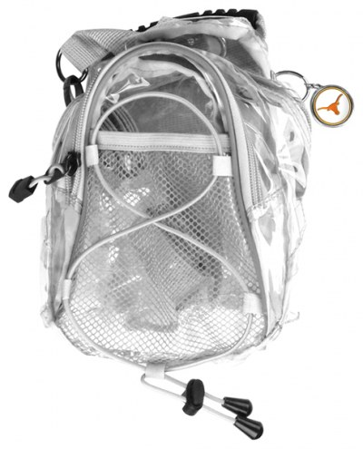 Texas Longhorns Clear Event Day Pack