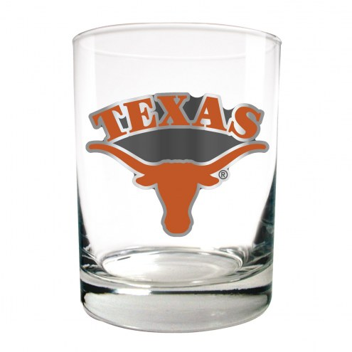 Texas Longhorns College 2-Piece 14 Oz. Rocks Glass Set